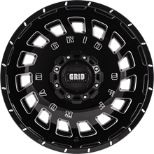 Picture of Grid GD03 Gloss Black